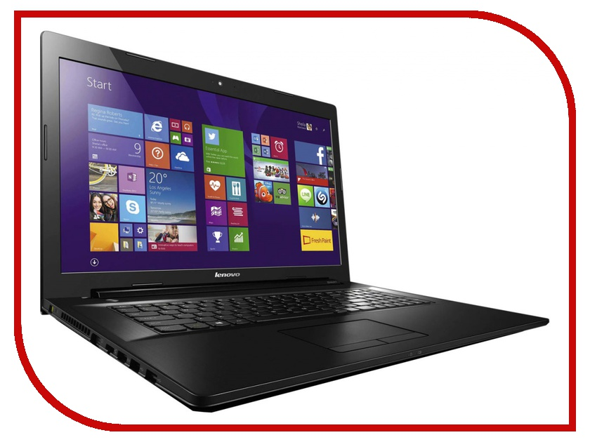 Ноутбук Lenovo IdeaPad G7080 Black 80FF00KNRK Intel Pentium 3825U 1.9 GHz/4096Mb/500Gb/No ODD/Intel HD Graphics/Wi-Fi/Bluetooth/Cam/17.3/1600x900/Windows 10 64-bit