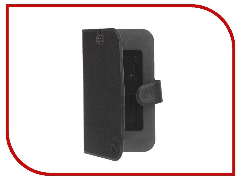 Аксессуар Чехол-книжка Krutoff 5.5-6-inch Black 10643<br>