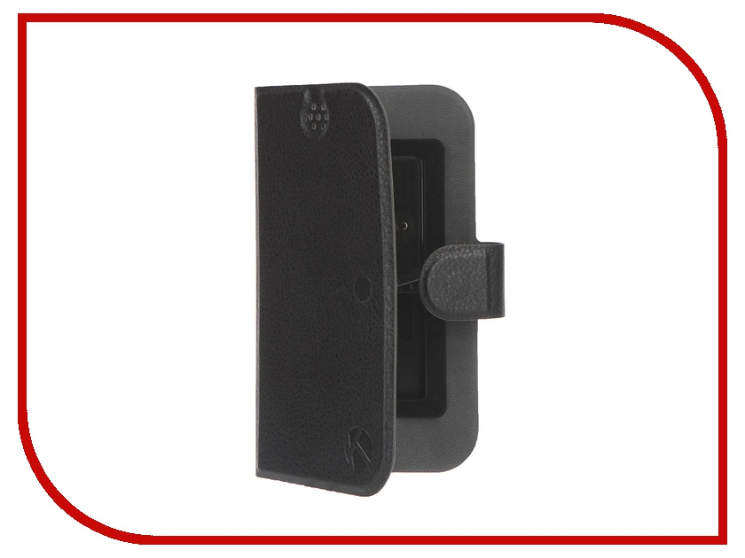 Аксессуар Чехол-книжка Krutoff 4.5-5-inch Black 10642<br>