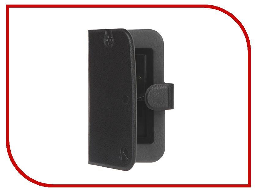 Аксессуар Чехол-книжка Krutoff 4.5-5-inch Black 10642