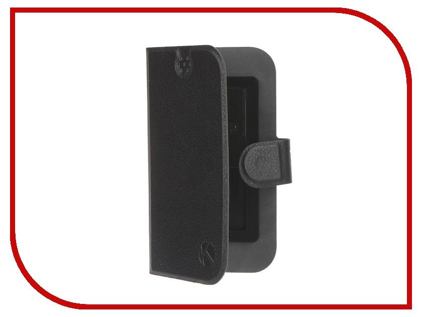 Аксессуар Чехол-книжка Krutoff 4-4.5-inch Black 10641