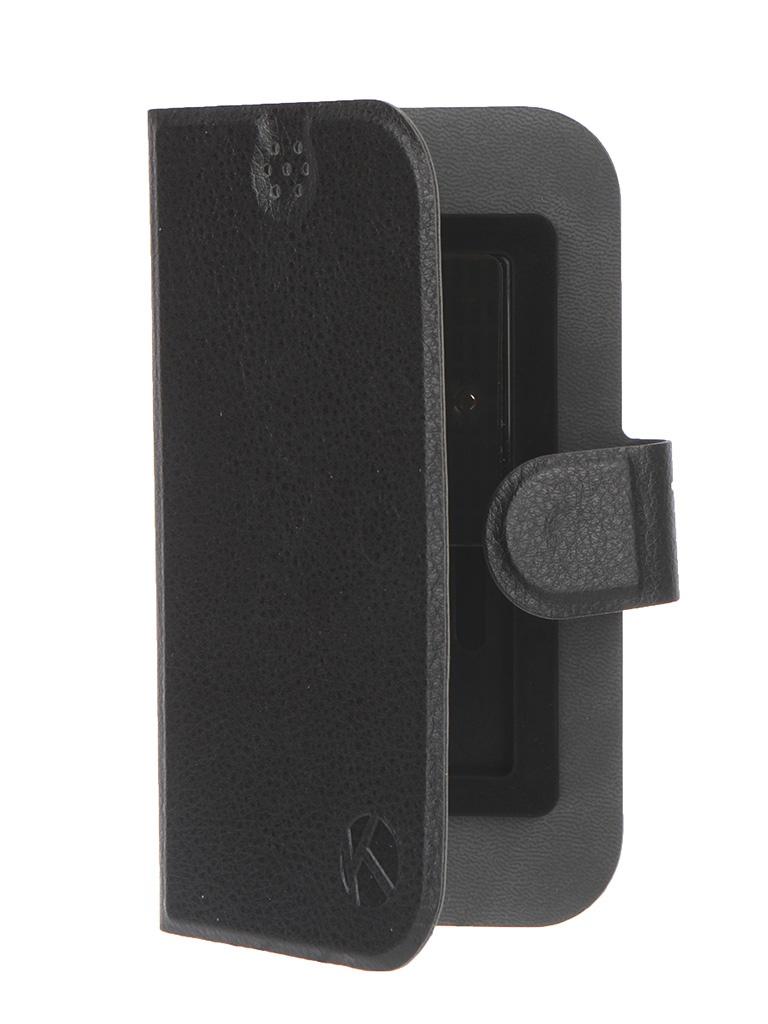 Аксессуар Чехол-книжка Krutoff 4-4.5-inch Black 10641<br>