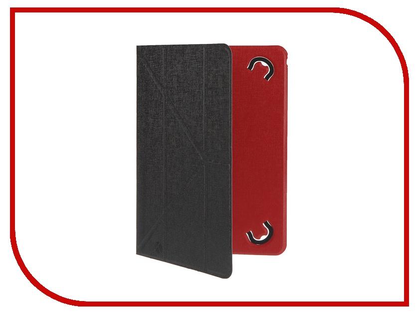 Аксессуар Чехол 10.0-inch Krutoff Black-Red 10638<br>