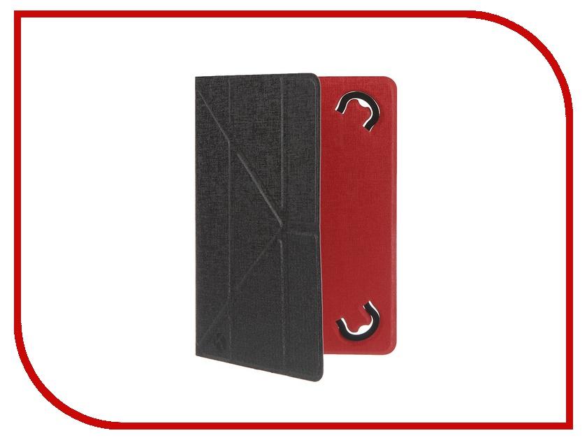 Аксессуар Чехол 8.0-inch Krutoff Black-Red 10635