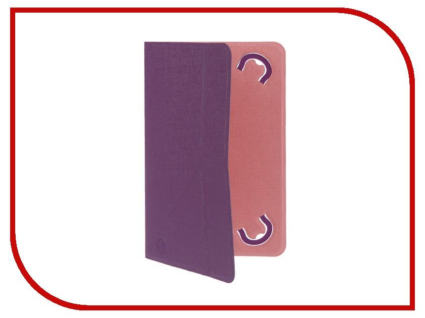 Аксессуар Чехол 7.0-inch Krutoff Purple-Pink 10634