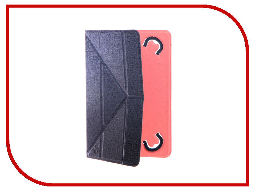 Аксессуар Чехол 7.0-inch Krutoff Blue-Pink 10633
