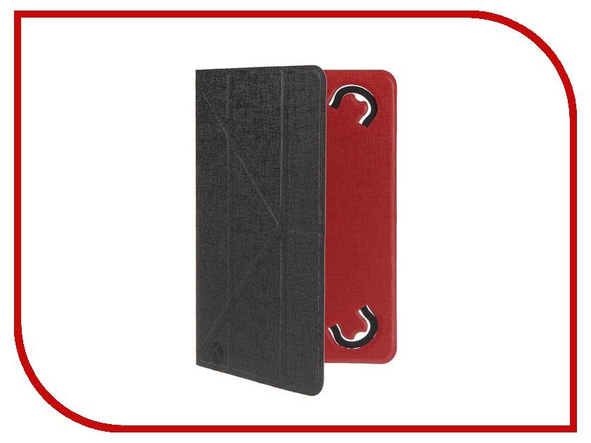 Аксессуар Чехол 7.0-inch Krutoff Black-Red 10632<br>