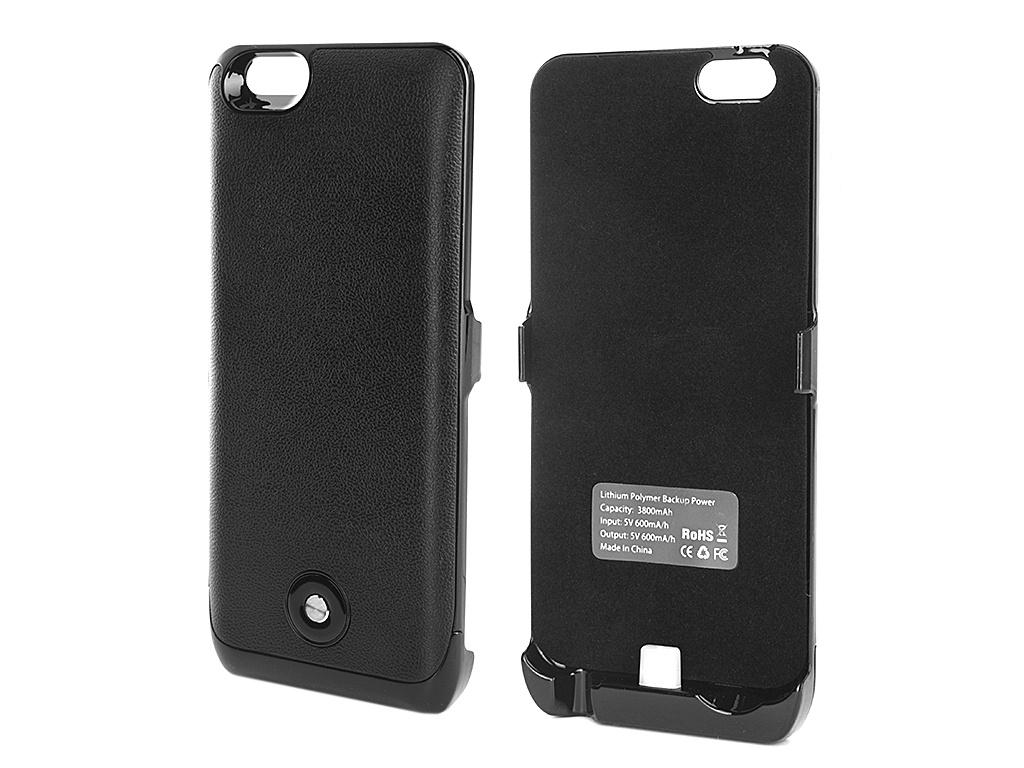 ��������� �����-����������� Krutoff X2 3800 mAh ��� iPhone 6 Black 48084