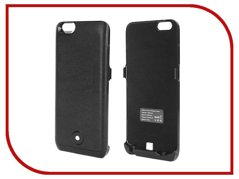 ��������� �����-����������� Krutoff Y2 9000 mAh ��� iPhone 6 Plus Black 48091