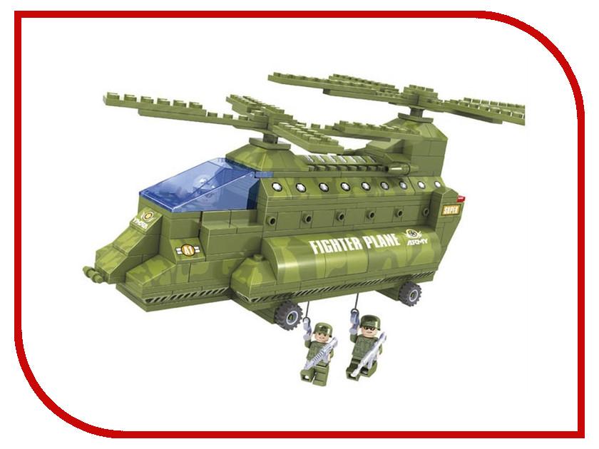Игрушка Конструктор Ausini Армия Вертолет 22602<br>