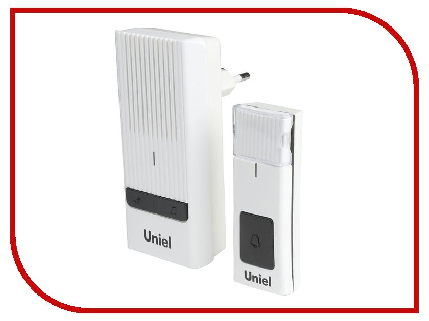 Звонок дверной Uniel UDB-012W-R1T1-32S-150M-WH White 08281