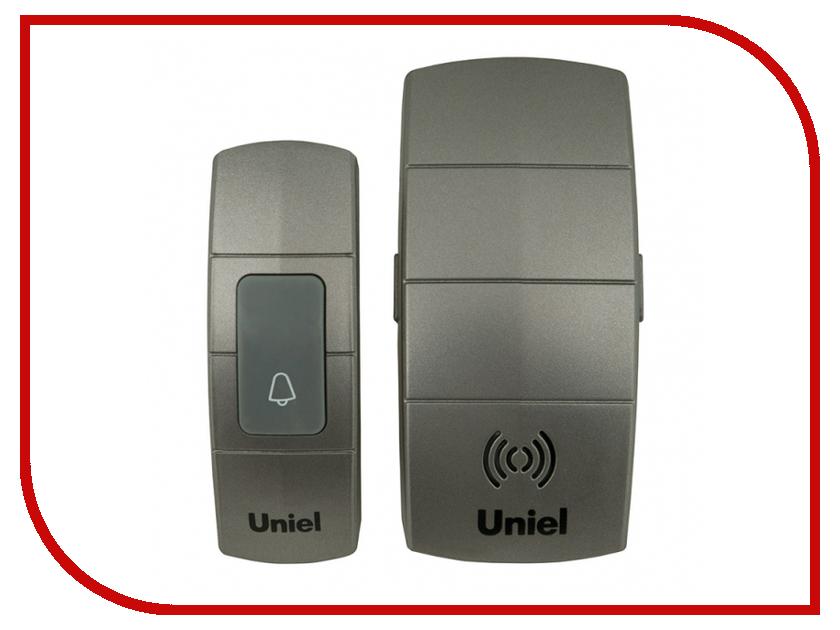 Звонок дверной Uniel UDB-088W-R1T1-32S-100M-DS Silver 05466 рекламный щит dz 5 1 j1b 088 jndx 1 s b