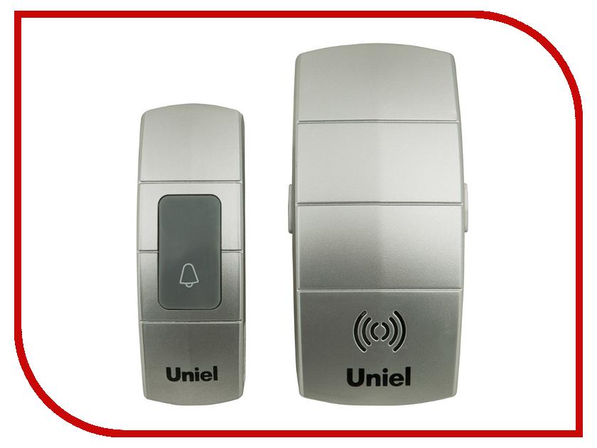 Звонок дверной Uniel UDB-088W-R1T1-32S-100M-SL Silver 05465<br>
