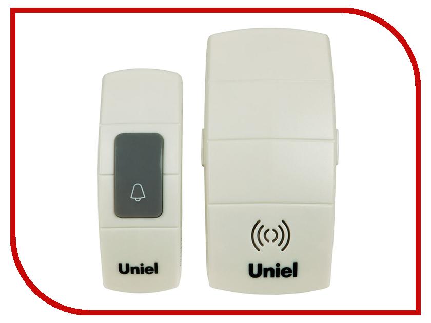 Звонок дверной Uniel UDB-088W-R1T1-32S-100M-WH White 05463