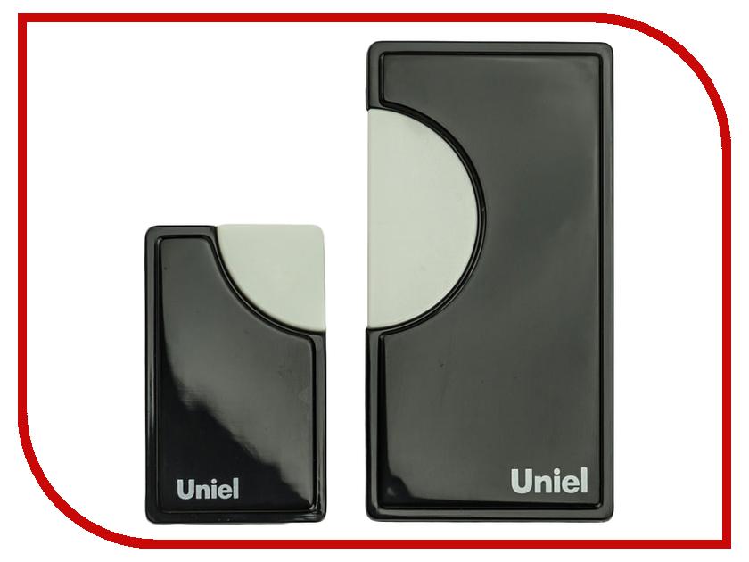 Звонок дверной Uniel UDB-002W-R1T1-32S-100M-BL Black 02240<br>