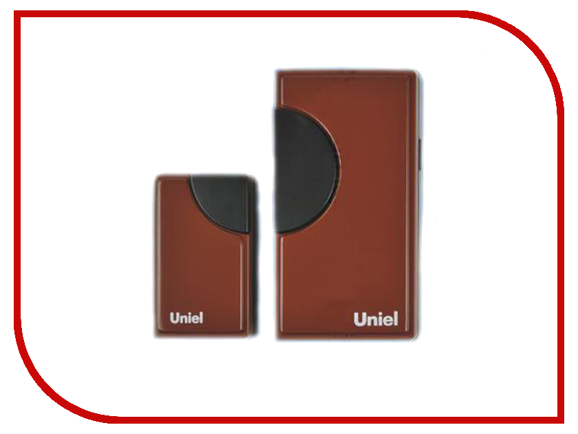 Звонок дверной Uniel UDB-002W-R1T1-32S-100M-RD Red 03608