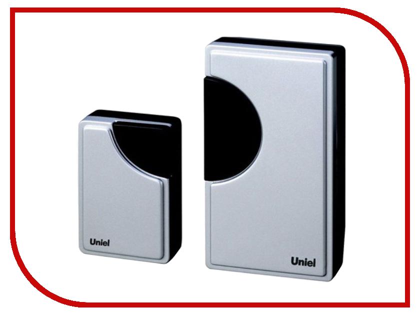 Звонок дверной Uniel UDB-002W-R1T1-32S-100M-SL Silver 02239<br>