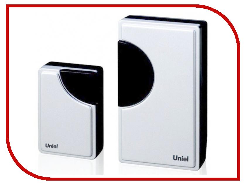 Звонок дверной Uniel UDB-002W-R1T1-32S-100M-WH White 03616