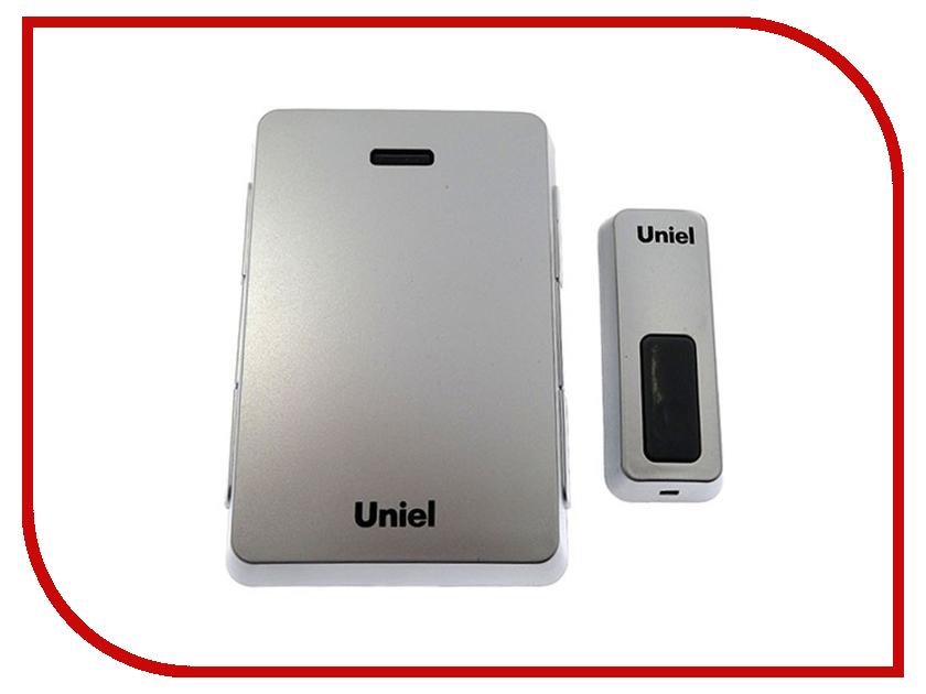 Звонок дверной Uniel UDB-005W-R1T1-32S-100M-LS Silver 03610<br>