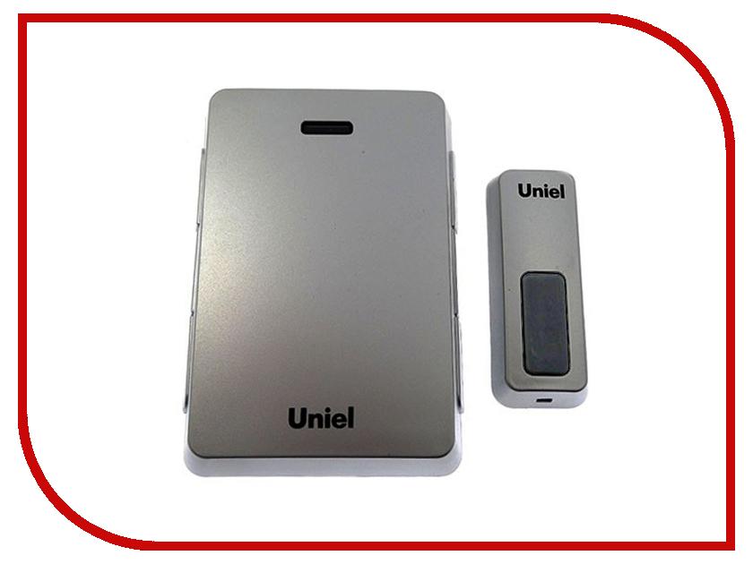 Звонок дверной Uniel UDB-005W-R1T1-32S-100M-SL Silver 03612<br>