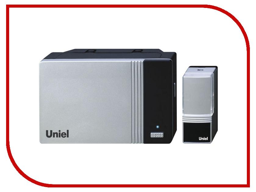 Звонок дверной Uniel UDB-006W-R1T1-32S-100M-SL Silver 03613<br>