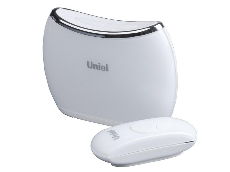 Звонок дверной Uniel UDB-009W-R1T1-32S-150M-WH White 08274<br>