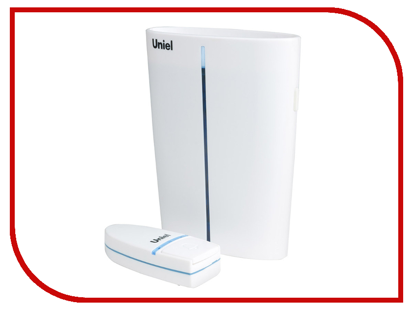 Звонок дверной Uniel UDB-011W-R1T1-32S-150M-WH White 08279<br>