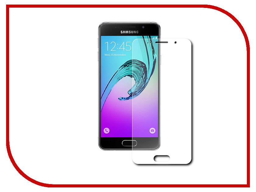 Аксессуар Защитная пленка Samsung Galaxy A3 2016 LuxCase Прозрачная На весь экран 88103 аксессуар защитная пленка lg k10 2017 luxcase прозрачная на весь экран 88057