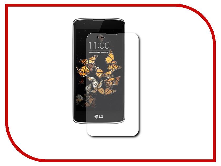 Аксессуар Защитная пленка LG K8 LuxCase Прозрачная На весь экран 88054