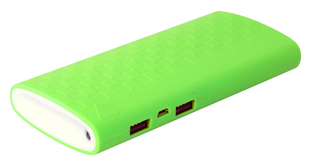Аккумулятор IconBIT FTB10000DS 10000 mAh Green<br>