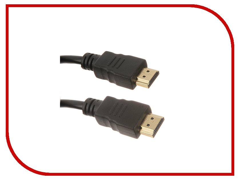 Аксессуар Krutoff HDMI - HDMI 5m 20003 аксессуар krutoff lightning u2 120i strong 1 2m red 14730