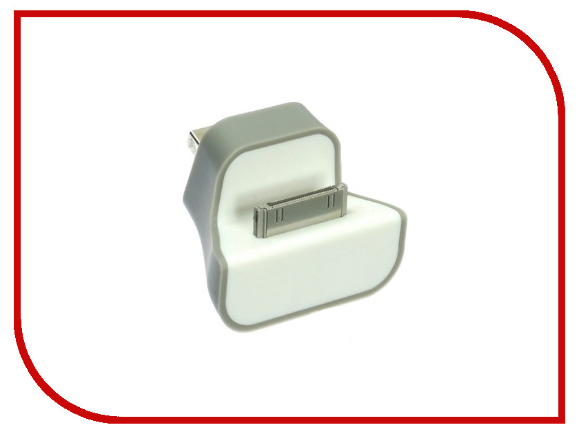 Аксессуар Krutoff iDock USB Lightning для iPhone 2g/3g/3gs/4/4s IS-N052-3 14064<br>