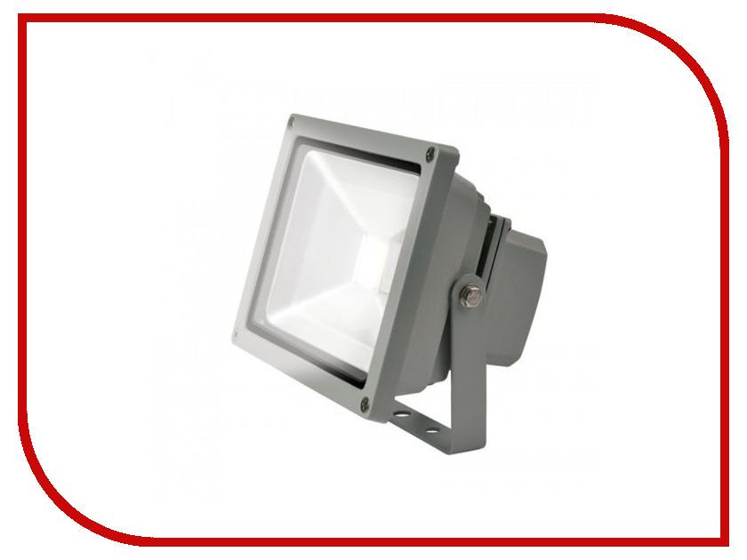 Лампа Uniel ULF-S01-20W/DW IP65 Grey 07396