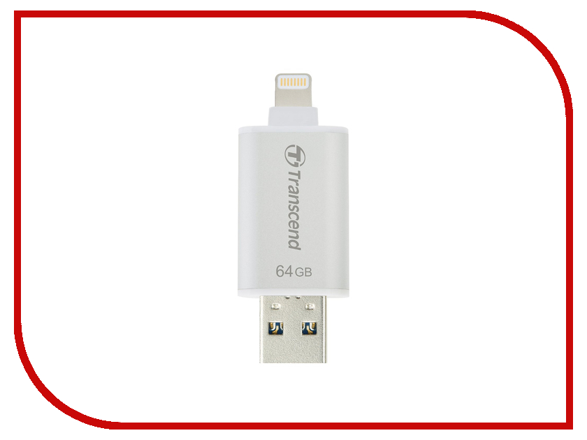 USB Flash Drive 64Gb - Transcend JetDrive Go 300S TS64GJDG300S<br>