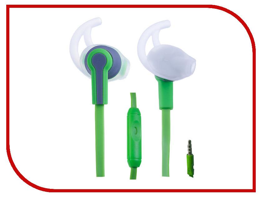 Perfeo Sport PF-SPT-GRN/GRY Green-Gray наушники perfeo tangle green pf tng grn gld