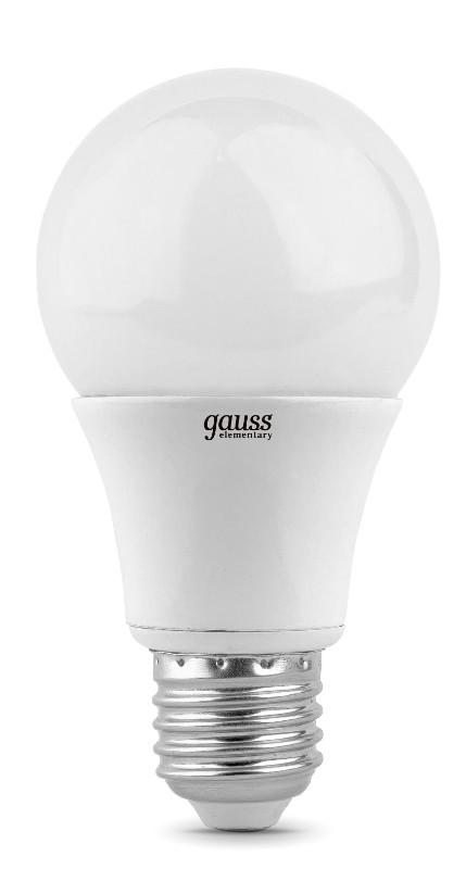 Лампочка Gauss Elementary LED E27 A60 10W 3000K 23210 недорого