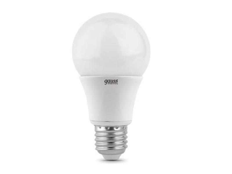 Лампочка Gauss Elementary LED E27 A60 10W 4100K 23220 недорого