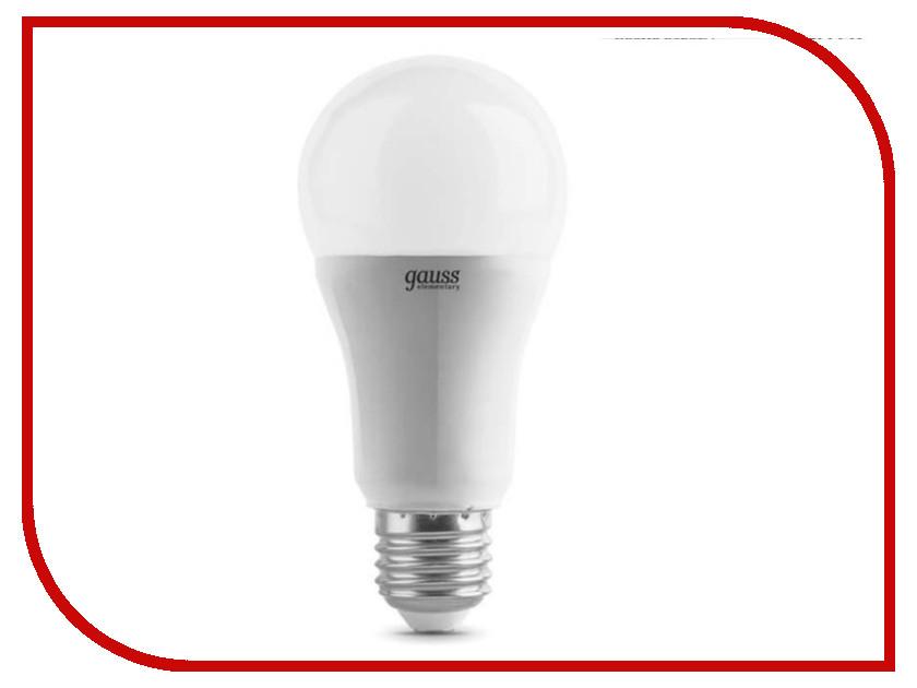 Лампочка Gauss Elementary Globe LED 12W A60 E27 4100K LD23222<br>