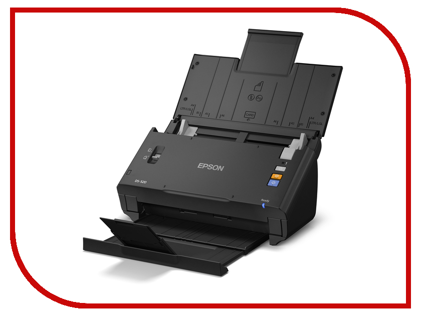 ������ Epson WorkForce DS-520<br>