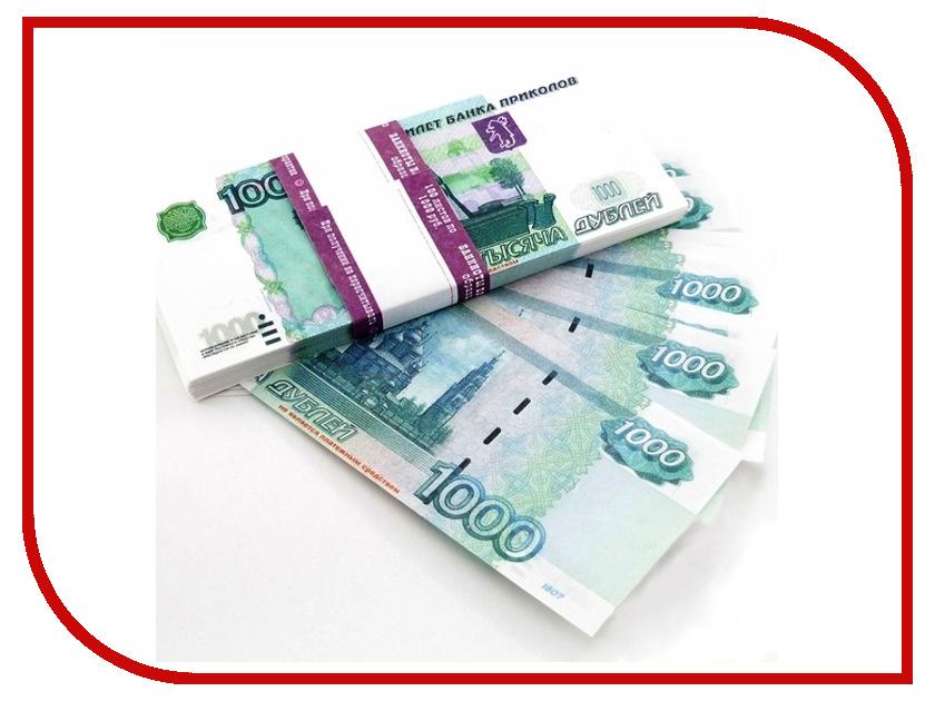 Шуточные купюры СмеХторг 1000 рублей