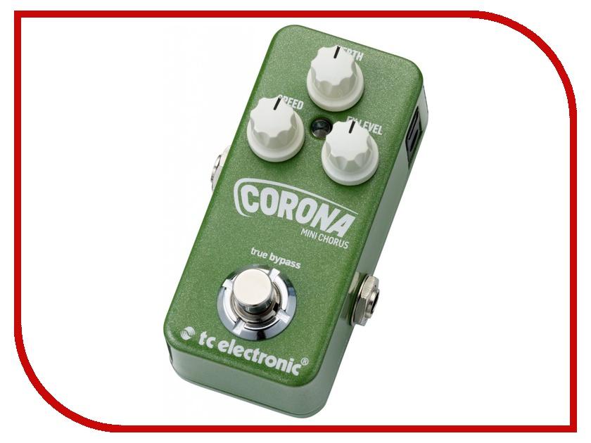 Педаль TC Electronic Corona Mini Chorus tc helicon voicelive купить