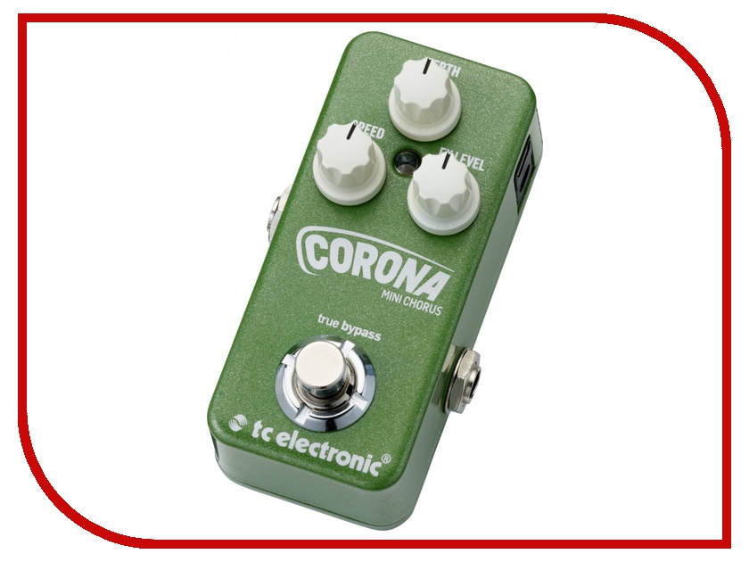 Педаль TC Electronic Corona Mini Chorus tc electronic vortex mini flanger