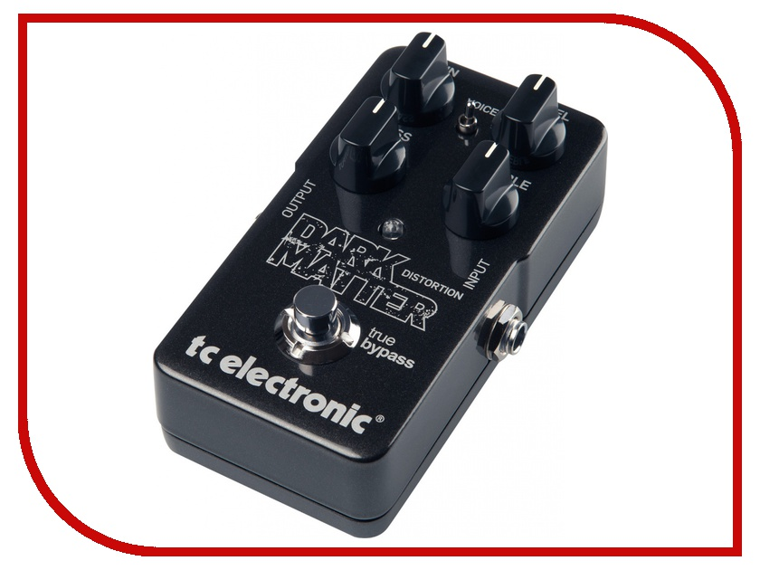 Педаль TC Electronic Dark Matter Distortion dark matter v 1 rebirth