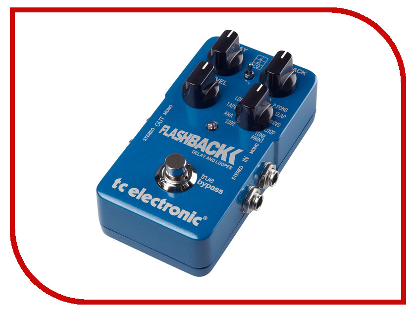 Аксессуар TC Electronic Flashback Delay &amp; Looper TonePrint<br>