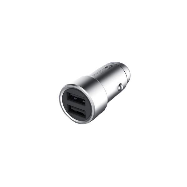 Зарядное устройство Xiaomi Car Charger 2xUSB 3.6A 18W Silver CC05ZM