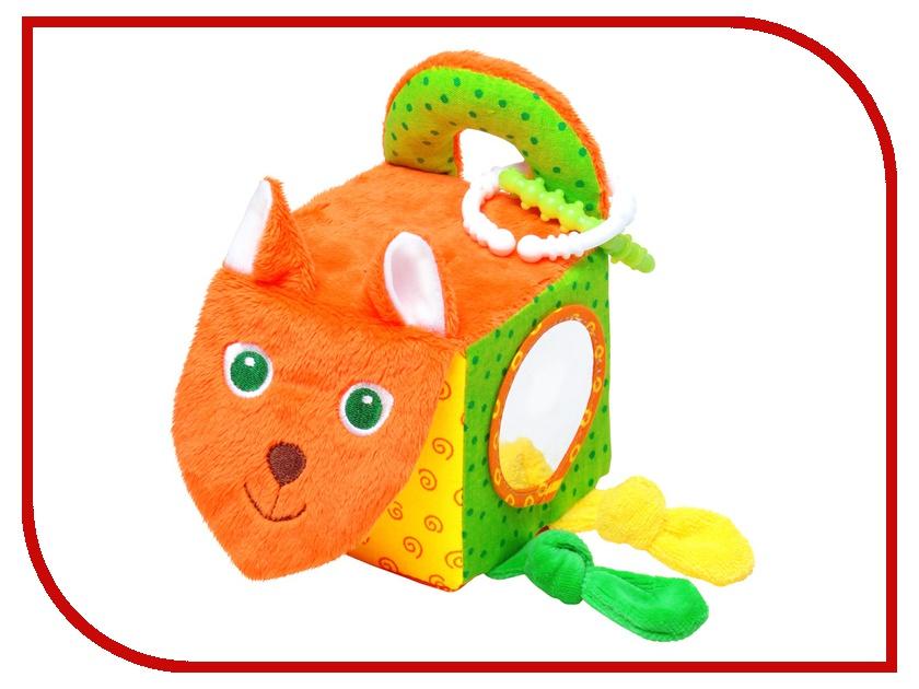 Игрушка Мякиши Кубик Лиса 305 игрушка книжка мякиши кошки мышки