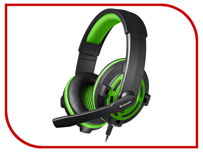 Гарнитура Defender Warhead G-300 Green 64128<br>