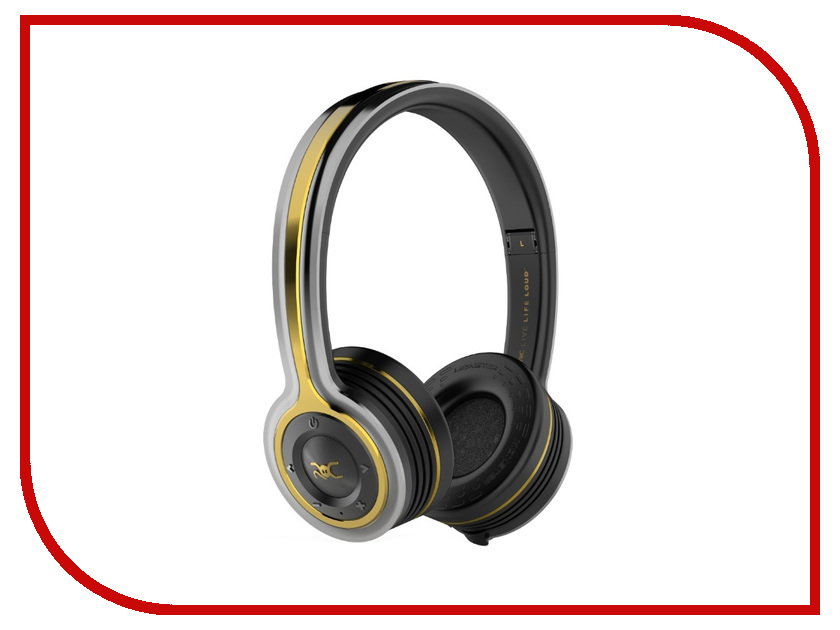 Monster ROC Sport Freedom On-Ear беспроводные наушники monster isport freedom wireless bluetooth on ear green
