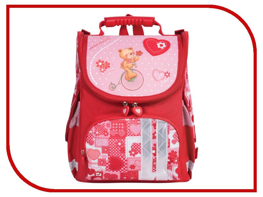 Рюкзак BRAUBERG Pink-Red 225317