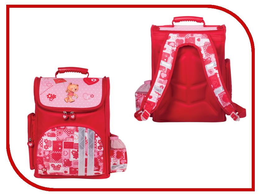 Рюкзак BRAUBERG Pink-Red 225315